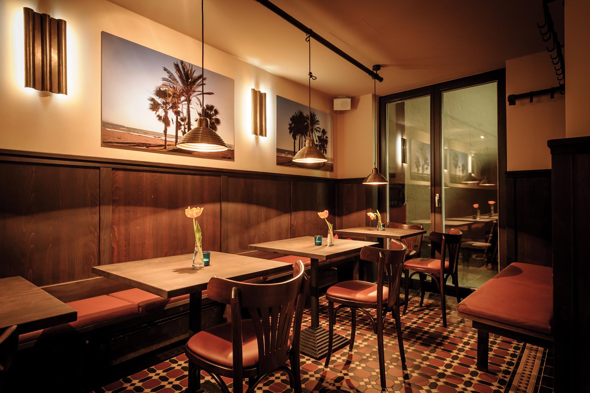 Unser Räumlichkeiten CORDO BAR – Tapas Bar in München